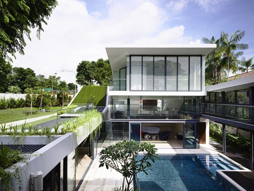 Andrew road residence futuristic dream mansion in singapore by a dlab