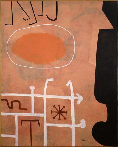 ADOLPH GOTTLIEB http://www.widewalls.ch/artist/adolph-gottlieb/ #abstractexpressionism #contemporary #art