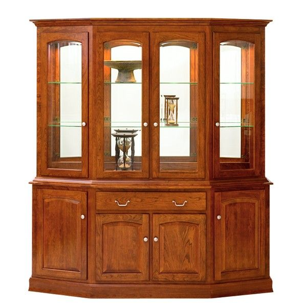Manchester Canted Amish Hutch furniture Pinterest Dining room