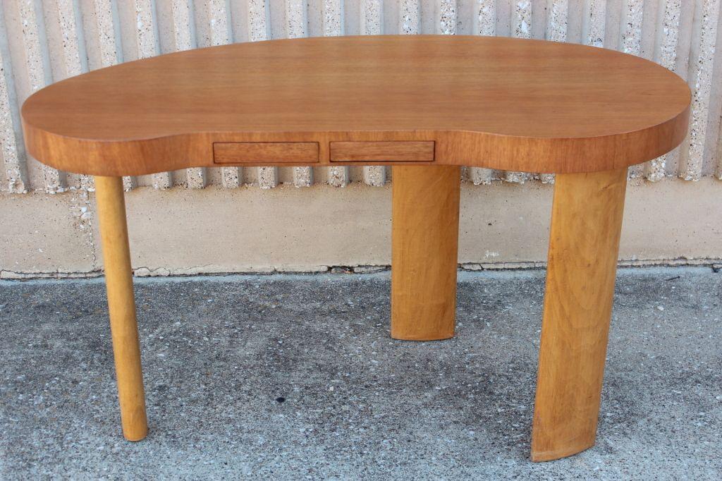 Rare Desk By Paul Frankl For Johnson Furniture At 1stdibs