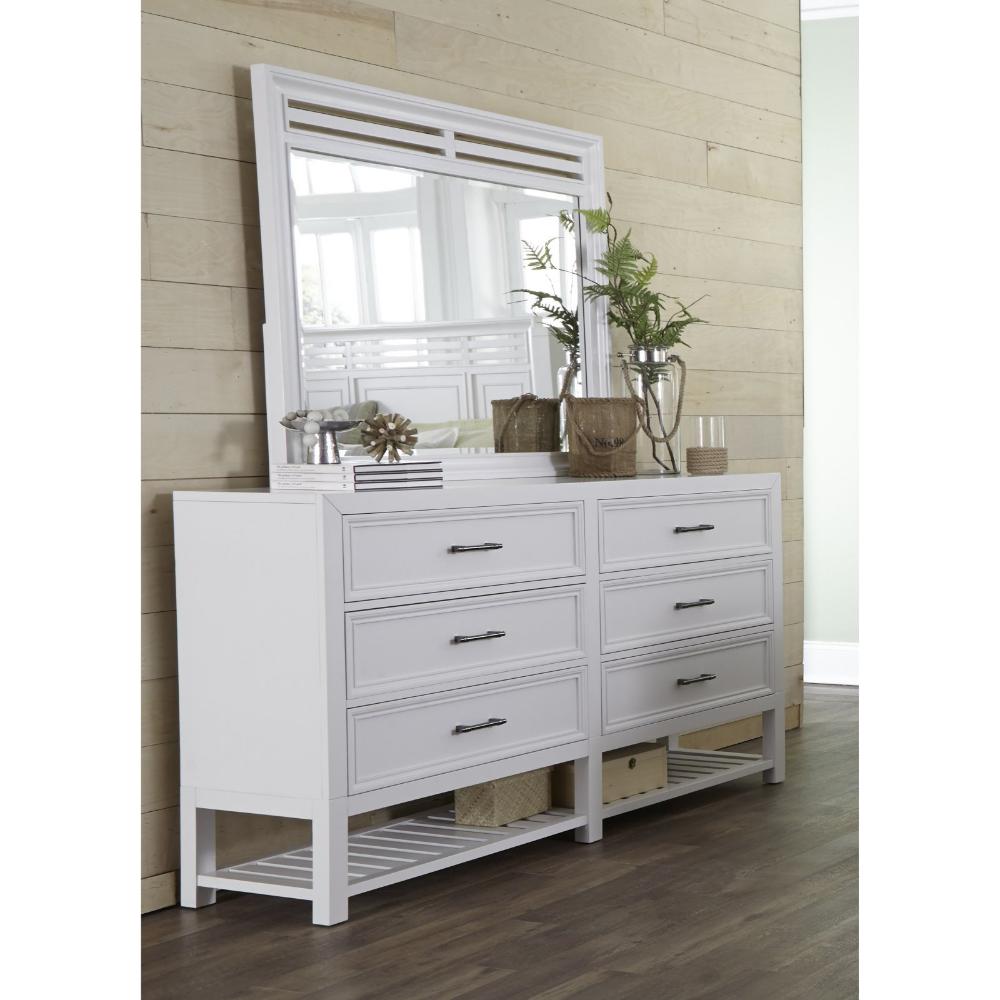 Drawer Dresser In Tuxedo White Finish Walmart Com Progressive Furniture White Bedroom Furniture Dresser With Mirror [ 1000 x 1000 Pixel ]