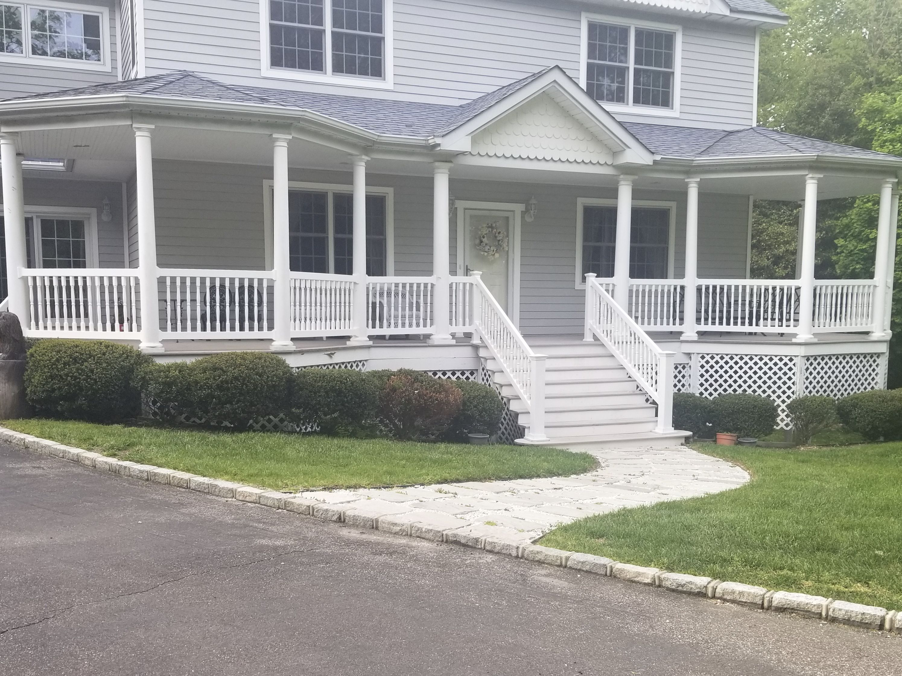 Best Front Porch Upgrade Eye Catching Custom Pvc Spindle 640 x 480