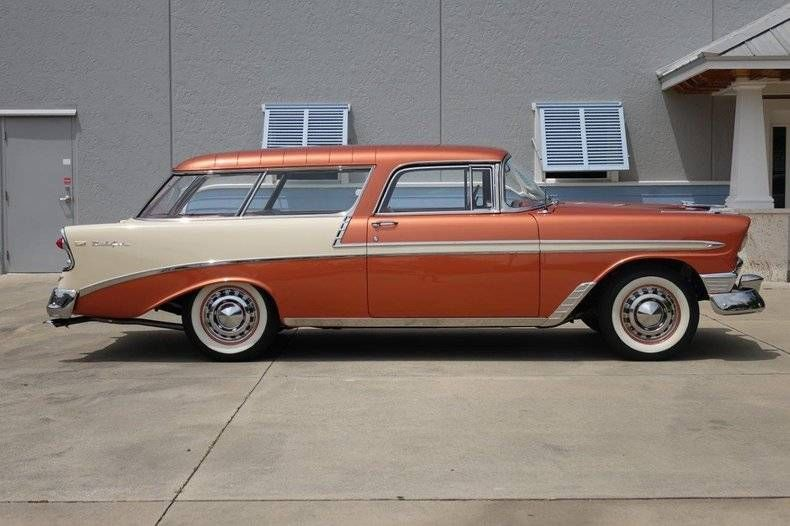 1956 Chevrolet Bel Air Nomad Chevrolet Bel Air Chevrolet Chevy Nomad
