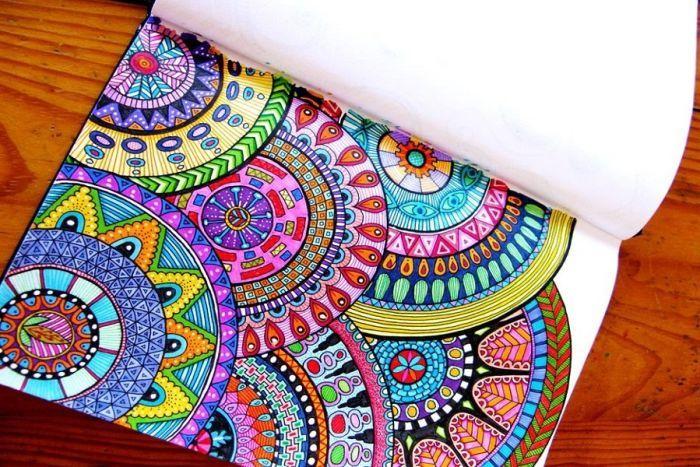 Libretas De Dibujo De Un Artista Freelance: Tips Para Colorear Mandalas Y Dibujos Para Adultos