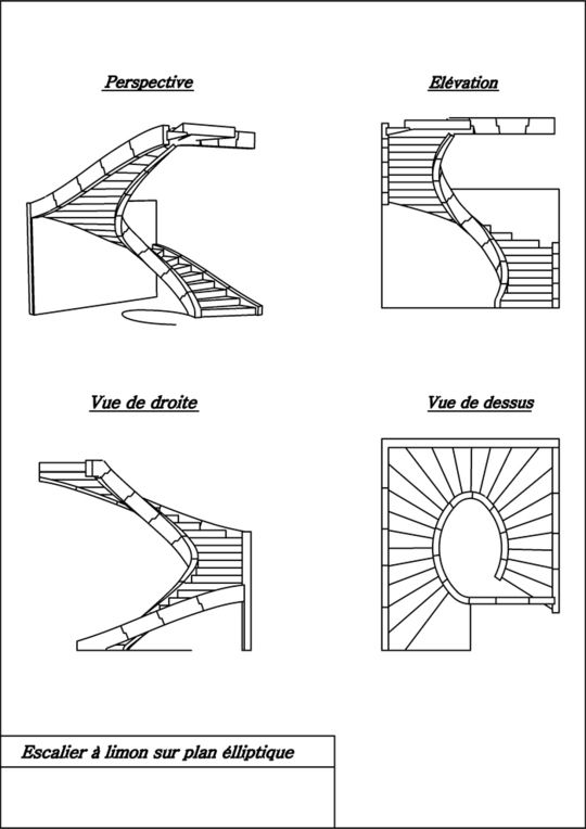 perspective escalier balanc double quart tournant escaliers pinterest maison perspective. Black Bedroom Furniture Sets. Home Design Ideas