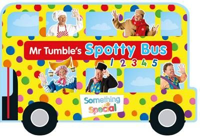 Something Special Mr Tumble S Spotty Bus Board Book Mr Tumble Toddler Birthday Tumbling
