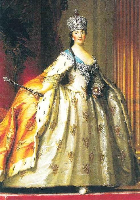 Екатерина Великая. / Фото: www.knowhistory.ru | Екатерина ...