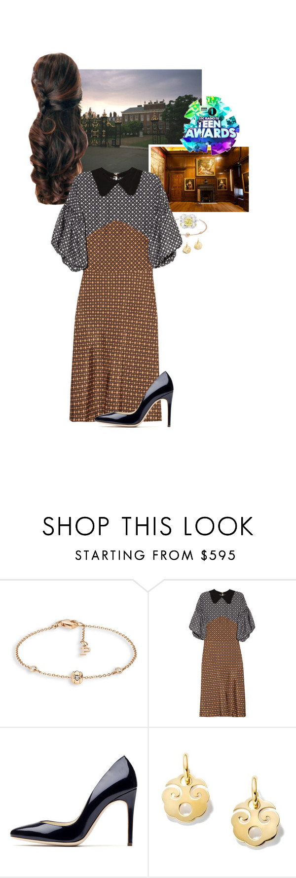"""""""Untitled #2257"""" by duchessq ❤ liked on Polyvore featuring Piaget, Marni and Rupert Sanderson"""