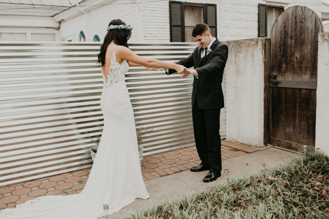 Simple wedding dresses for eloping  Simple and sleek wedding dress by designer Stella York  Boho