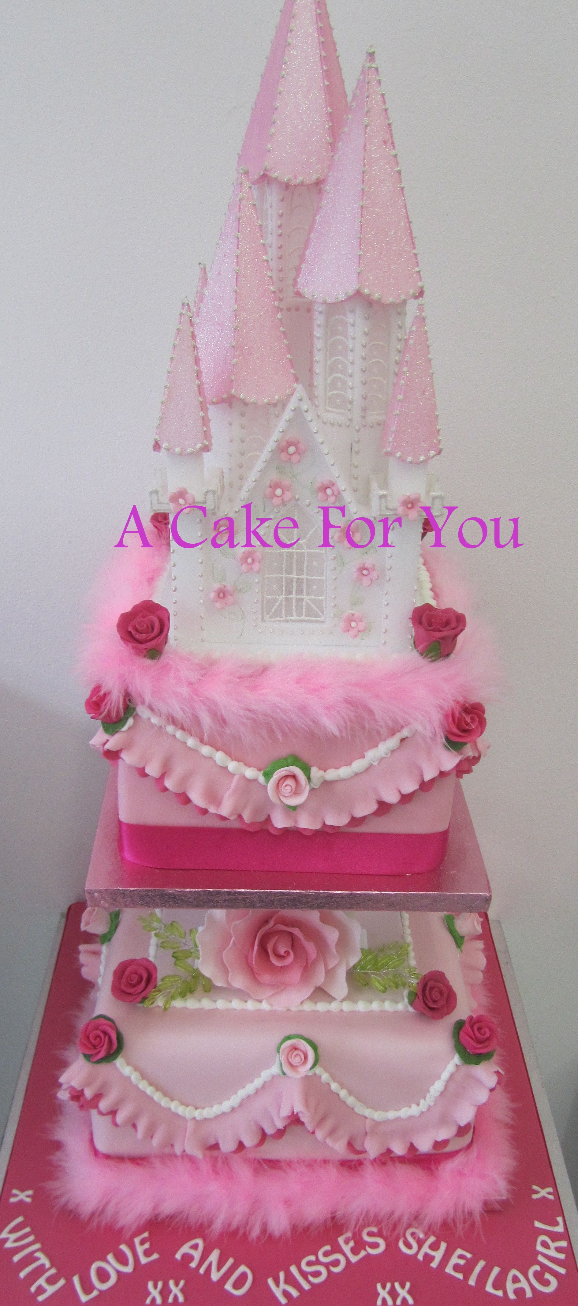 princess christening cake! follow us for more of our amazing cakes #awesome