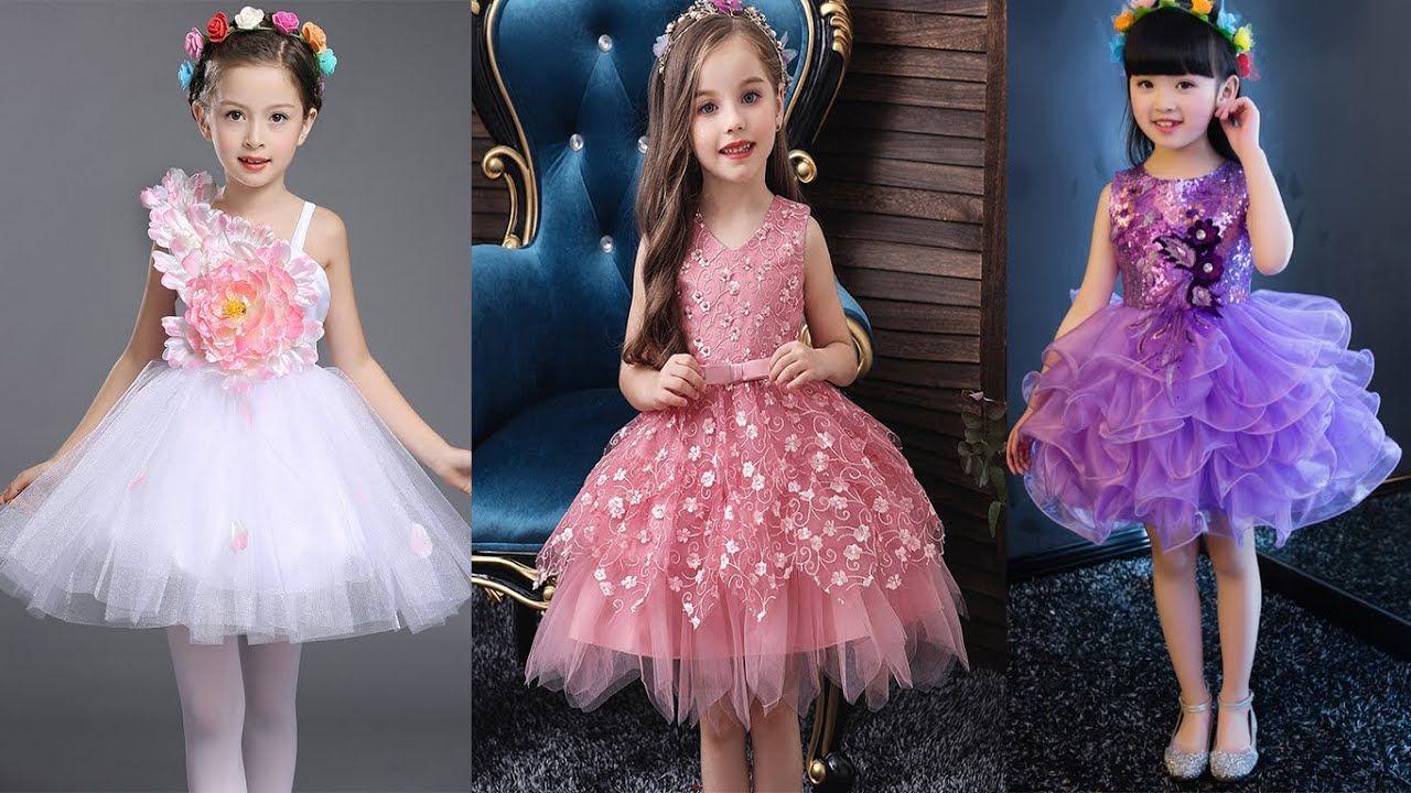 اجمل فساتين اطفال للافراح والمناسبات احدث موضة فساتين سهرة وافراح وللم Dresses Flower Girl Dresses Fashion