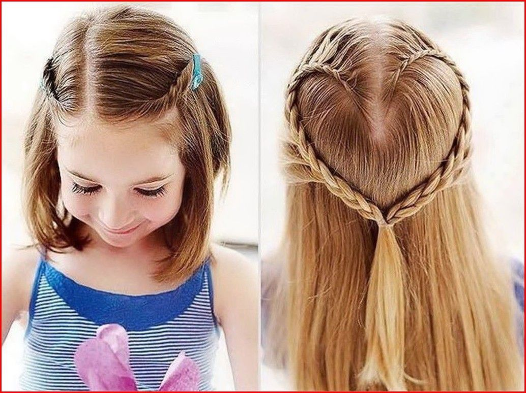 Cute Easy Hairstyles For Girls For Short And Long Hair Short Hair Styles Girls School Hairstyles Kids Hairstyles