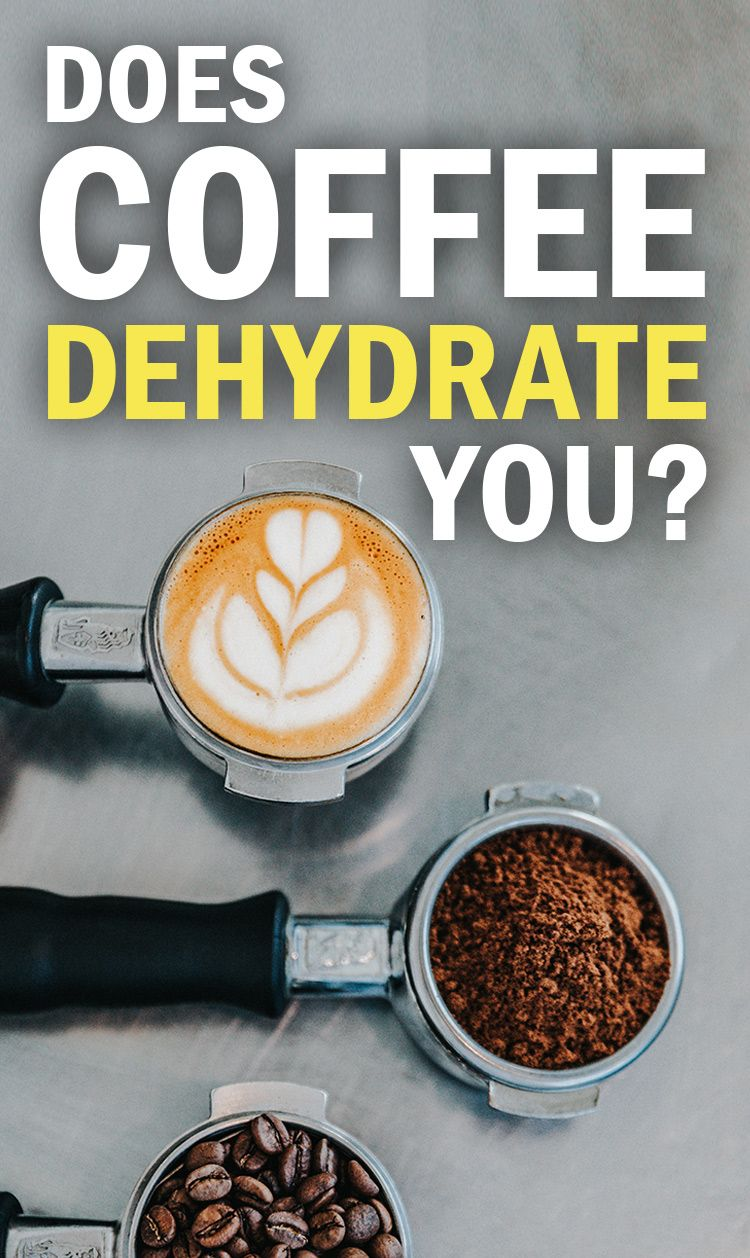 Does drinking coffee dehydrate you dehydrator how to