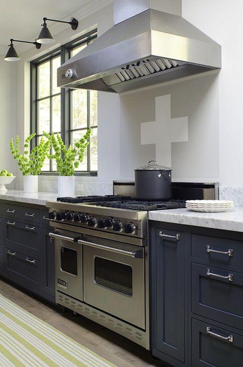 Pin By Lindsey Stewart On Kitchen Blue Kitchen Cabinets Kitchen