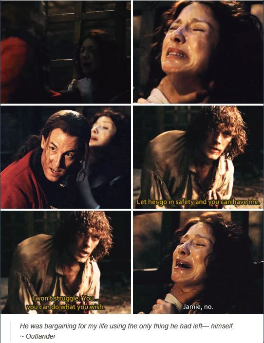 This broke Jamie. He will protect her with his body and soul no matter the cost.