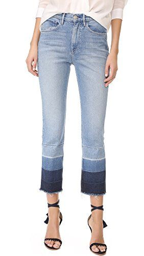 Discount 100% Original Woman Shelter High-rise Faded Slim-leg Jeans Mid Denim Size 28 3x1 Visit Online gqOdb1Idpd