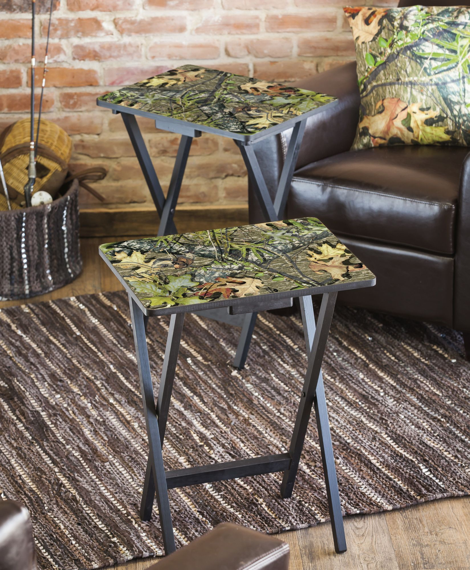 Mossy oak foldable tv tray products pinterest tv trays this mossy oak foldable side tabletv tray set of two by evergreen is perfect geotapseo Images
