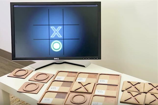 Le papier interactif développé par le Disney Research Lab