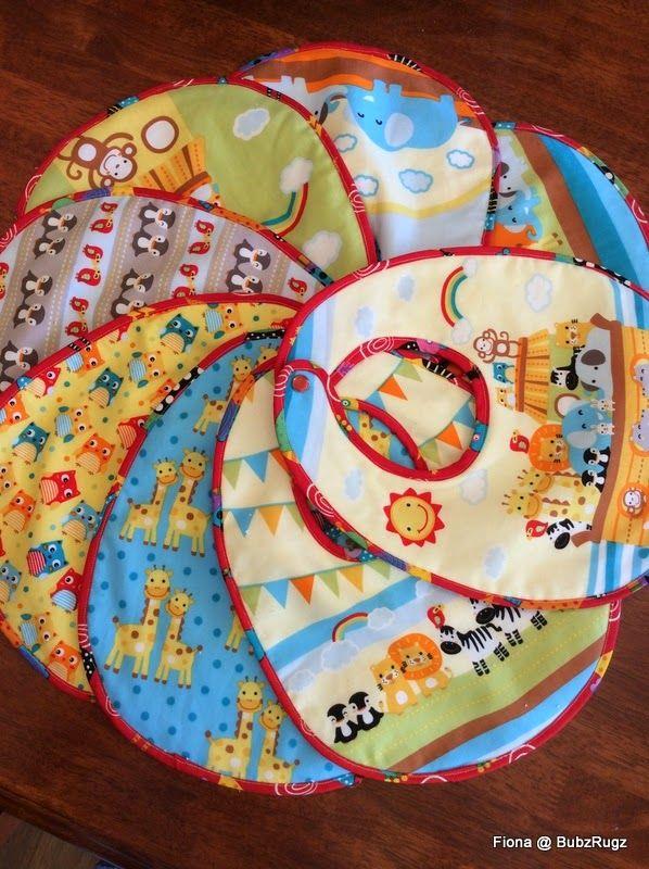BubzRugz: Baby Bibs and Christmas hexagons....