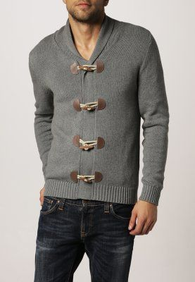 Selected Homme PHILIP - Cardigan - light grey melange - Zalando.it