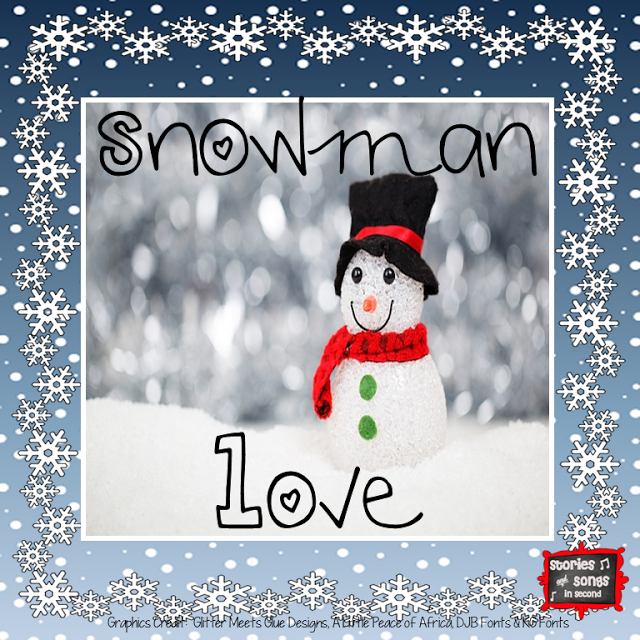 Snowman Love and the TpT Cyber Smile Sale!  FREE writing graphic organizers and templates for snowman stories!