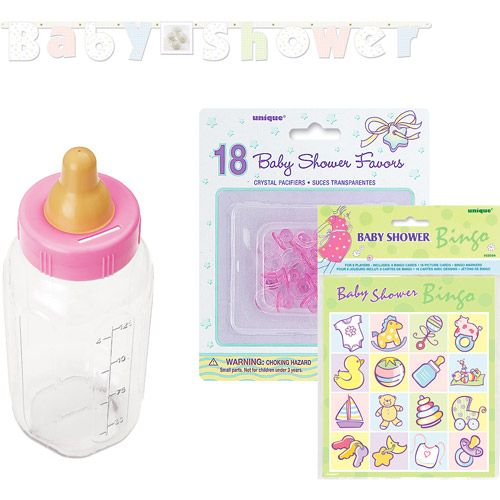 Baby Shower Party Favor Pack: Party Supplies : Walmart.com