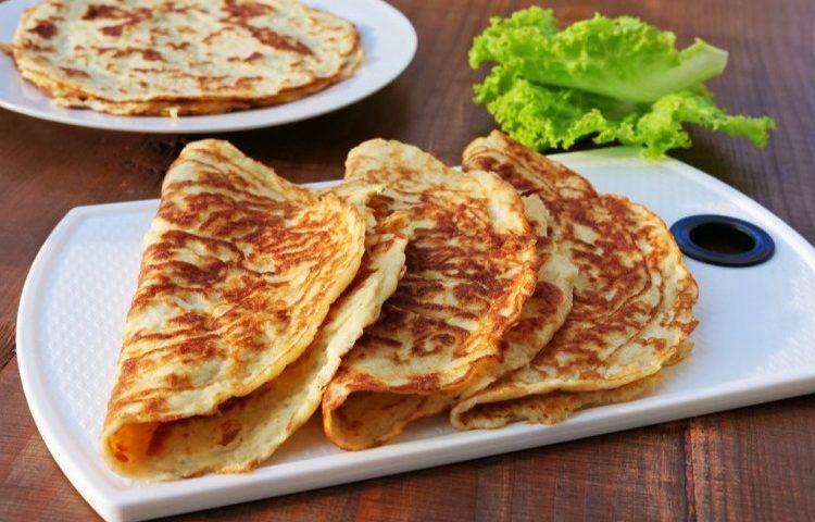 طريقة تحضير كريب كيتو سيدات مصر Food Breakfast Pancakes