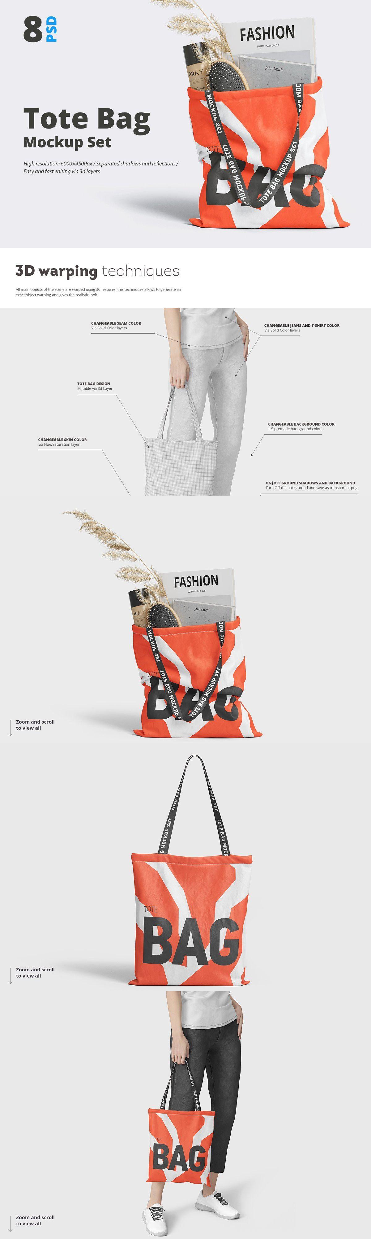 Download Tote Bag Mockup Bag Mockup Tote Bag Design Tote Bag