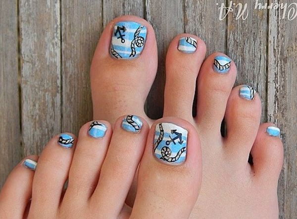 Toe Nail Art Designs Besides warmth and sunshine, summer and spring carry  with them also the possibility to wear sandals and peep toe shoes, the  chance to ... - 30+ Toe Nail Designs Toe Nail Designs, 30th And Toe Nail Art