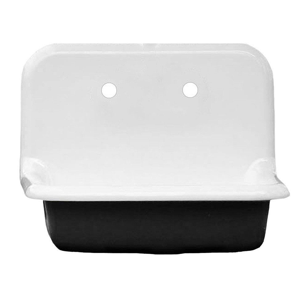24 inch farmhouse sink white