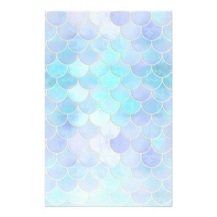 aqua pearlescent gold mermaid scale pattern in 2018 pattern