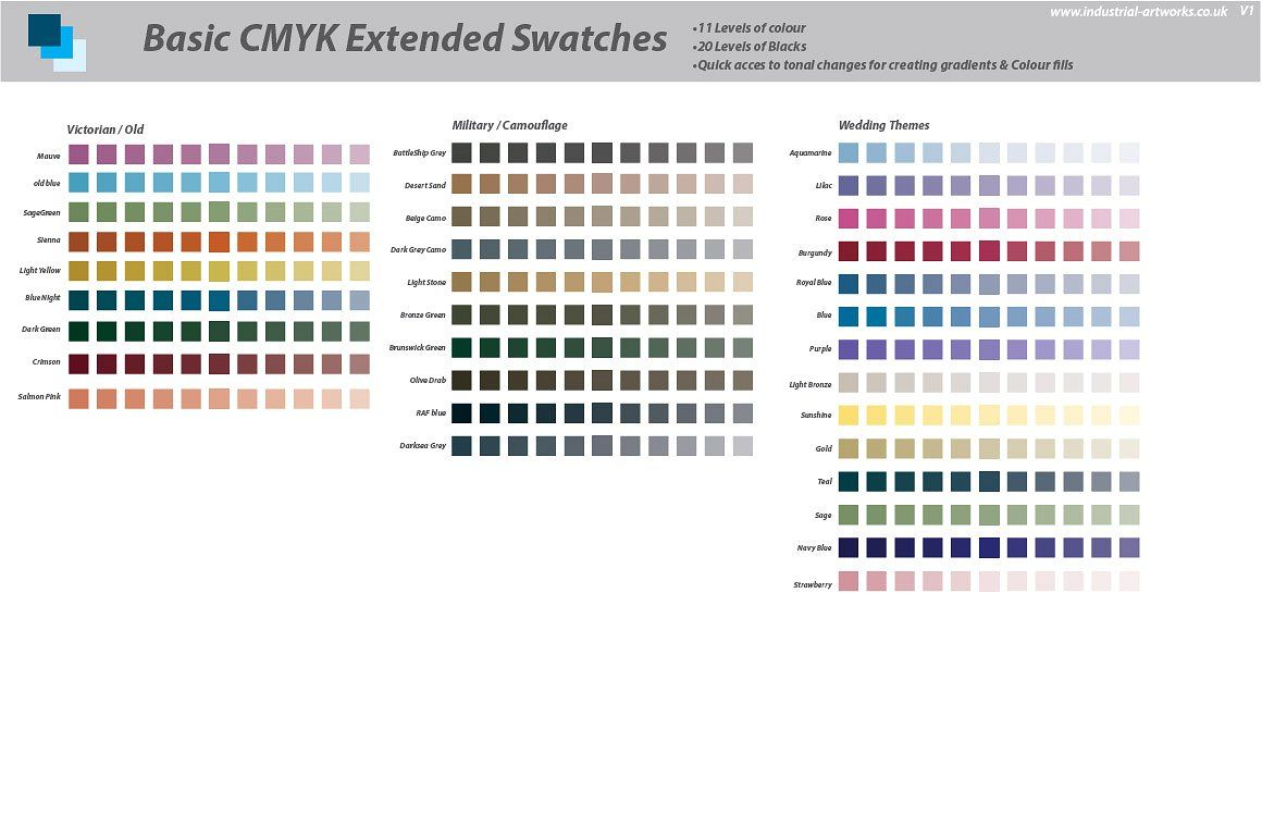 cmyk extended swatches illustrator swatch illustration pantone 705c to ral colour match