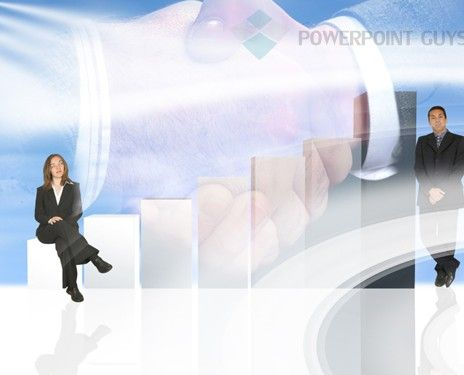 Business Women Powerpoint Template Another Presentation