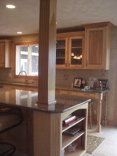 Kitchen Island Post post in kitchen island - google search | kitchen | pinterest