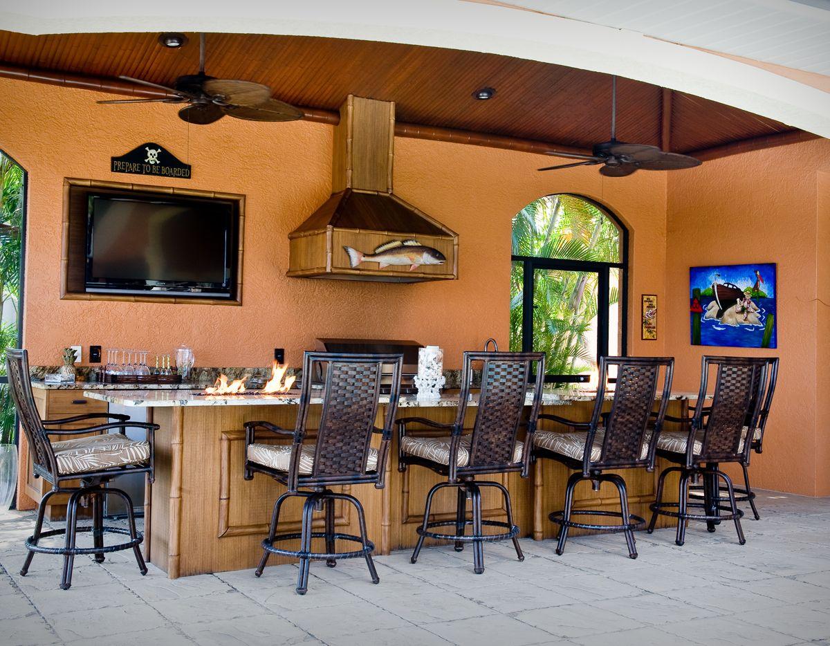 The ultimate outdoor kitchen... Indoor pool design