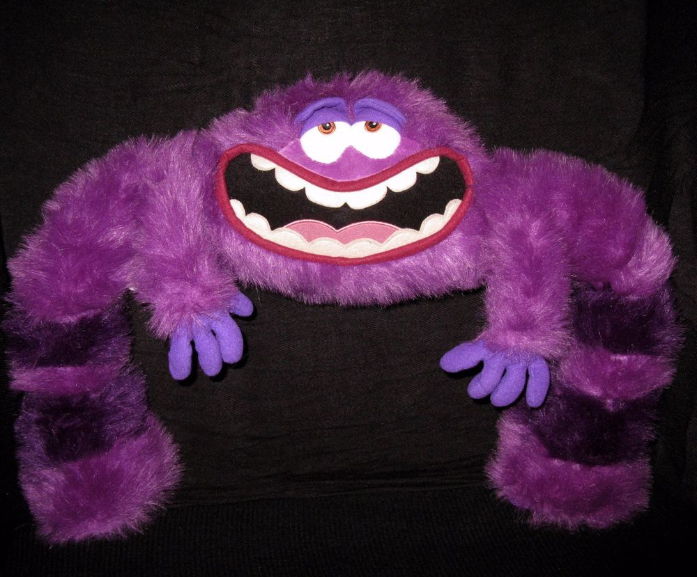 Monsters University Purple Art Jumbo 17 Plush Disney Store Stuffed Animal Pixar Purple Art Storing Stuffed Animals Monster Costumes