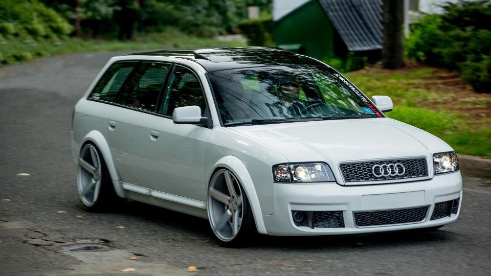 The do it all audi rs6 avant plenty of luggage space for long audi avant twin turbo with sciox Gallery
