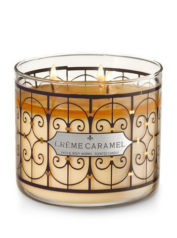 Cr Egrave Me Caramel 3 Wick Candle Bath And Body Works Candles Bath Body Works Candles Bath Candles