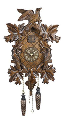 Quartz Cuckoo Clock 7 Leaves 3 Birds Incl Batteries Read More Reviews Of The Product By Visiting The Link On The Image Cuckoo Clock Clock Cuckoo