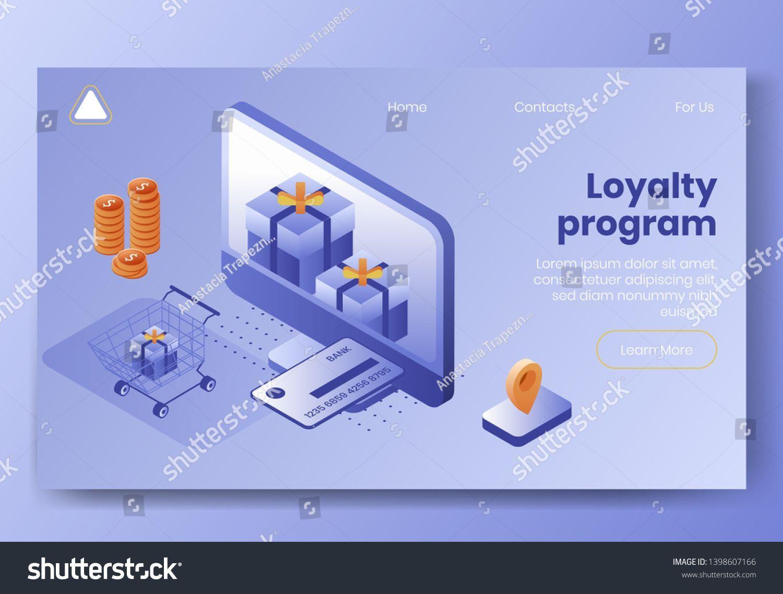 Credit Card Banner Digital Design Isometric Concept Scene Of 3d