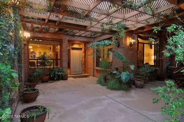 ELEGANT GATED LIVING IN CENTRAL TUCSON...TUCSON REAL ... on Mexican Patio Ideas id=40016