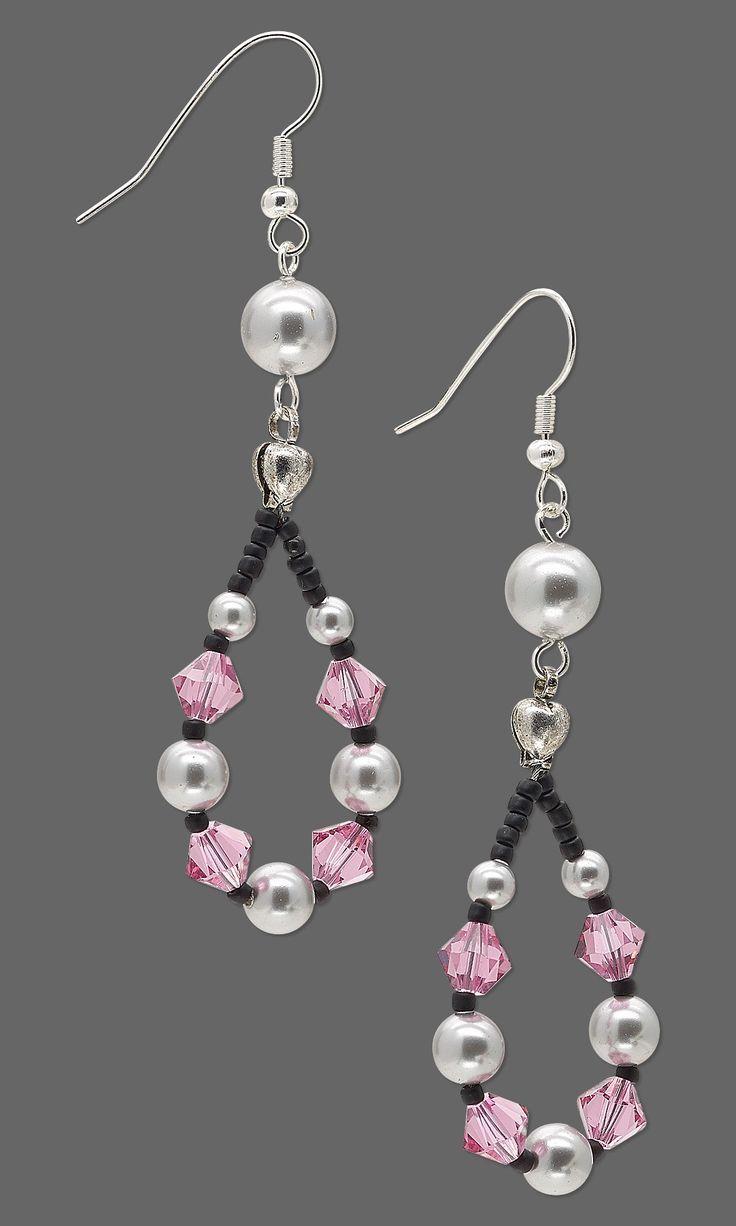 Image result for swarovski bead earrings design the wedding