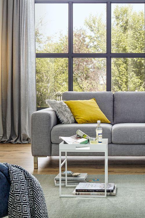 Funktion, die überrascht Die Sitztiefenverstellung von Global 7150 - wohnzimmer couch gemutlich