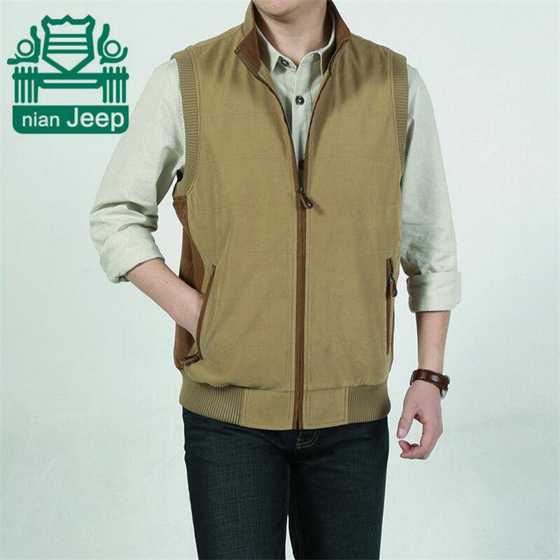 28ed02946f11c Click to Buy    Nian AFS JEEP M To 4XL Men s Plus Size 100% Pure ...