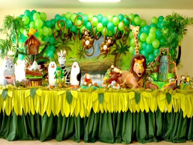 baby shower decorations zoo animals