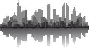 10+ New York Skyline Black And White Clipart