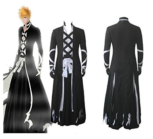 Bleach Ichigo Kurosaki New Bankai Cosplay Costume >>> Check out the image  by visiting the link. | Halloween outfits, Anime cosplay costumes, Bleach  cosplay