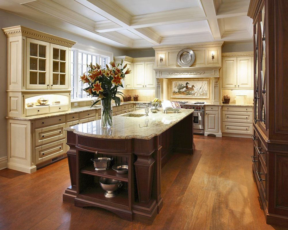 modern and traditional kitchen island ideas you should see luxury kitchens luxury kitchen on kitchen layout ideas with island id=78690