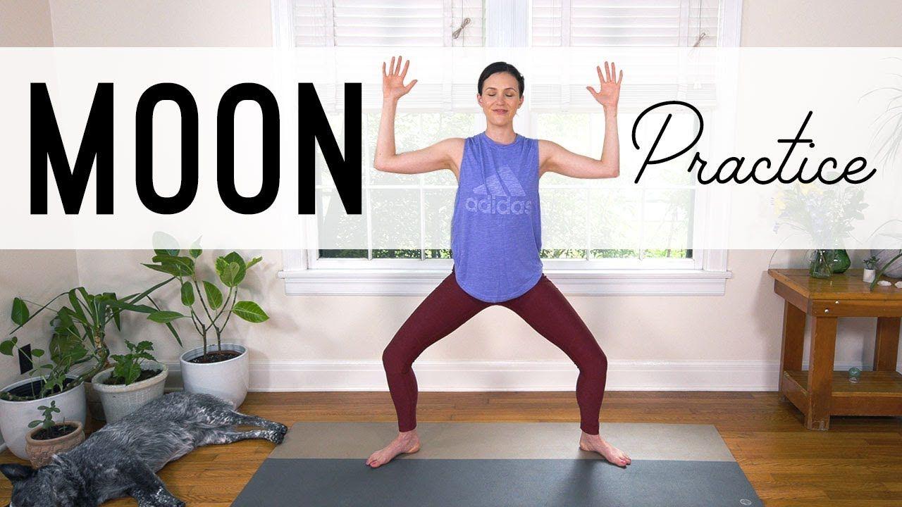 Moon Practice Yoga With Adriene YouTube Yoga with