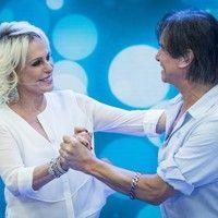 Roberto Carlos Canta Ao Lado De Ana Maria Braga No Mais Voce